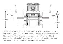 standard dining room chair height.  Dining Bespoke Height Refectory Dining Table In Standard Dining Room Chair Height D