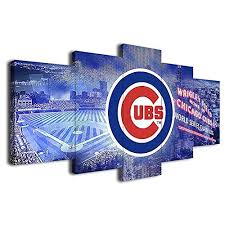 pilli chicago cubs baseball poster