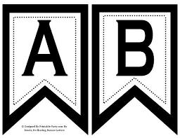 Printable Letter Templates Letter Templates For Bunting Printable Letters For Banners Google