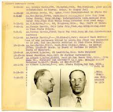 Albert Lawrence Bates Fingerprint Card, 1933 (Oklahoma City Police  Department) - The Portal to Texas History