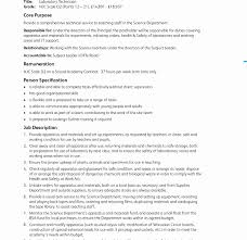 Medical Lab Technician Cover Letter Example Sample For With No