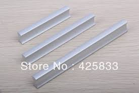 10pcs 96mm Aluminium Alloy Kitchen Knobs Modern Furniture Closet Knobs Cabinet Hardware Pulls Bookcase Decorative Discount 30
