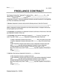 Create an independent contractor agreement that sets the terms between your business and a contracted worker, settling work responsibilities, project parameters, and payment terms. Freelance Contract Create A Freelance Contract Form Legaltemplates