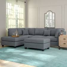 l shape furniture. Hemphill Reversible Sectional With Ottoman L Shape Furniture