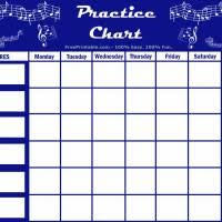 Free Printable Music Practice Charts 20 Best Piano Practice Chart For Mitchell Images Piano