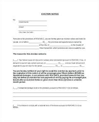 Eviction Letters Templates Custom Two Week Eviction Notice Letter Example Template Nz Tenancy Weeks