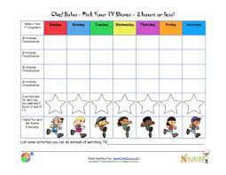 Time Out Chart For Toddlers Limiting Tv Time Chart For Kids Printable Tracking Sheet