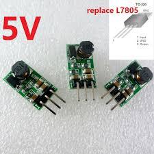 DD4012SA_5V * 3 <b>3pcs</b> 5W <b>9V 12V 24V</b> כדי 5V DC DC צעד למטה ...