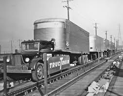 Image result for pics of pennsylvania railroad tractor trailers