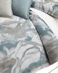 110x98 duvet cover.  Cover Isabella Collection By Kathy Fielder King Caspin Marbled Duvet Cover For 110x98
