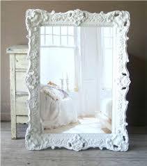 baroque frame large items similar to b a r o q u e white mirror shabby chic vintage