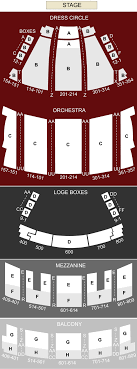 State Theater Cleveland Oh Seating Chart Stage