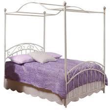 Full Size Canopy Bed Frame | Furniture Design