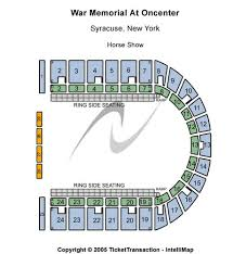 War Memorial At Oncenter Tickets Seating Charts And