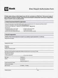 Employee Direct Deposit Authorization Agreement Direct Deposit Authorization Form Template Canada Ach Vendor