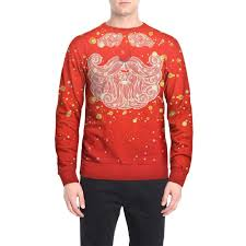 Red Camel Jeans Size Chart Ostely Mens Pullover Casual Christmas Printing T Shirt