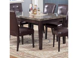 Acme Furniture 7058 07058 Rectangular Dining Table With Black Marble