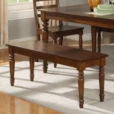 Living Room Benches Living Room Dining Room Design Idea With Brown Wooden Dining Table