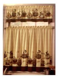 coffee themed kitchens tiers valance set complete family dollar excellent kitchen curtains curtain
