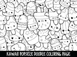 Cute Coloring Pages Of Food Cute Coloring Books Doodle Page
