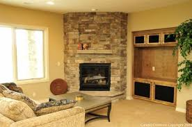 Corner Fireplace Ideas In Stone download stone corner fireplace | home  design