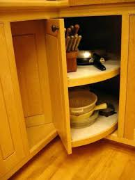 spectacular cabinet corner of lazy susan for kitchen cabinets plans for base pie cut corner pic