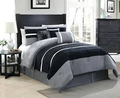 dark bedding sets bedroom black and gray micro suede comforter sets having white in dark decorations dark brown quilt set