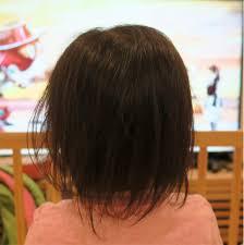 素人散髪我が家の自宅ヘアカット法女の子のヘアスタイル赤ちゃん