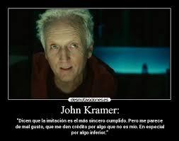 Jigsaw Quotes Custom Jigsaw John Kramer Quote