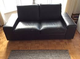 ikea kivik 2 seater leather sofa