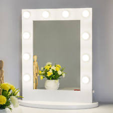 lighted wall mirror. vanity mirror with light hollywood makeup wall mounted lighted o