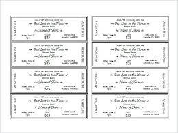 Free Printable Raffle Ticket Template Download Inspiration Free Event Ticket Template Download Printable Christmas Raffle