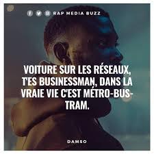 Rap Médias Buzz At Rapmediasbuzz Véridique Damso Rapfranc