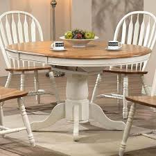 rustic round dining table round dining table antique white rustic oak by furniture rustic wood dining