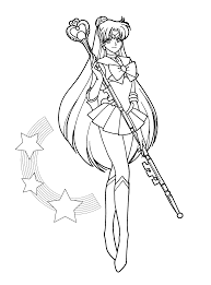 Small Picture Color Me Sailor Pluto by sakkysa on DeviantArt LineArt Sailor