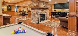 Basement Remodeling Designs With Good Ideas For Basement Remodel