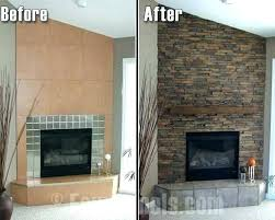 stone fireplace surround faux excellent decoration fake for surrounds of rock painting over st faux stone