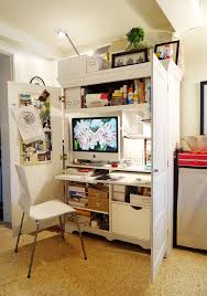 Cool armoire desk in Eclectic EANF with Desk Armoire next to Imac Desk  alongside Hidden Office and ...