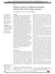 Pdf Why Myalgic Encephalomyelitischronic Fatigue Syndrome Mecfs