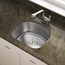 2118 d shape stainless steel kitchen sink