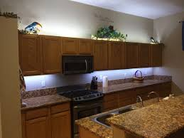 Kitchen Cabinet Lighting Completed Kitchen Cabinet Lighting Project Sort Of Projects