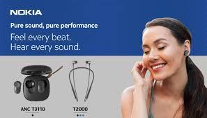 Nokia trình làng hai mẫu tai nghe mới Bluetooth Headset T2000 và True  Wireless Earphone ANC T3110. - Mobile - Tin nóng Việt Nam