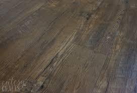 chic wood look luxury vinyl tile unbiased luxury vinyl plank flooring review cutesy crafts