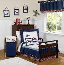 baby boy bedroom images: baby  kid rooms and boys bedroom interior with white blue aeroplabe f bedding set combined rectangle fur rug on brown teak wood floor baby boy furniture sets baby nursery baby nursery furniture sets girl ro