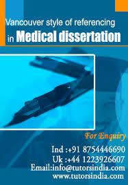medical dissertation ideas similar articles