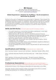 Sample Resume Australian Resume Sample Professional Summary And