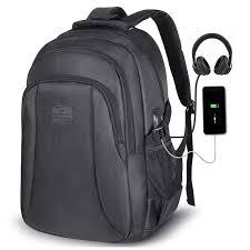 Unisex School Bag <b>Multifunction USB charging Men</b> 15inch Laptop ...