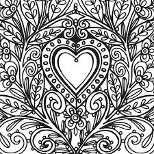 Lovely Easy Stress Relief Coloring Pages Howtobeawesome