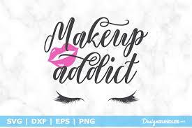 191 icons in png and svg format. Makeup Addict Svg File