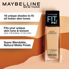 Maybelline Fit Me Colour Chart Maybelline New York Fit Me Matte Poreless Liquid Foundation Makeup Spicy Brown 1 Fl
